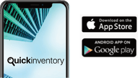 Quick Inventory App - Available on iOS and Android
